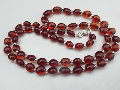 Natural Baltic amber necklace - 6.3 grams