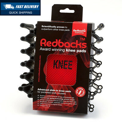 NEW - Redbacks Lightweight Advanced Slide-in Knee Pad for Workwear Trousers