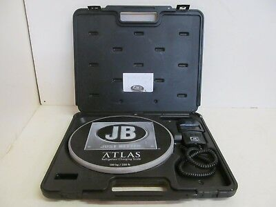 Just Better JB ATLAS Refrigerant Charging Scale - 220 lbs Capacity DS-20000 S