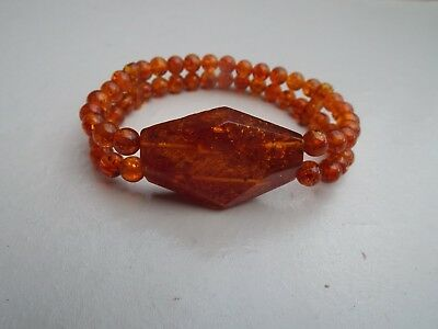 Natural Baltic amber bracelet - 11.3 grams