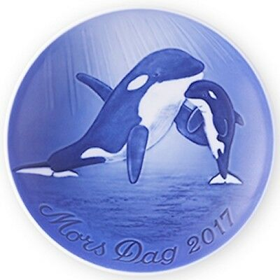 BING & GRONDAHL 2017 Mother's Day Plate B&G Mothers Day NIB ORCA with CALF