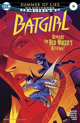 Batgirl # 16 Rebirth Regular Cover 1st Print NM DC
