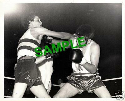 PRESS PHOTO ABA CHAMPIONSHIPS AT EMPIRE POOL 1971 TOMMY WRIGHT v D HOLLYOAK