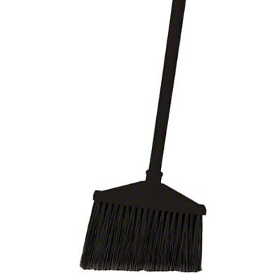 Rubbermaid 1861076 Commercial-Grade Angle Broom with Ultra Comfort Grip Handle