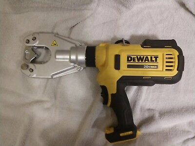 DeWalt DCE350 Cordless Dieless Cable Crimping Tool. With 2 batteries and charger