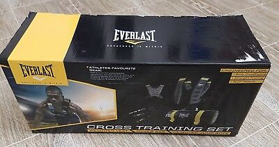 Everlast Cross Training Set Fit Multi Sports Weighted Vest Power Bag Jump Rope
