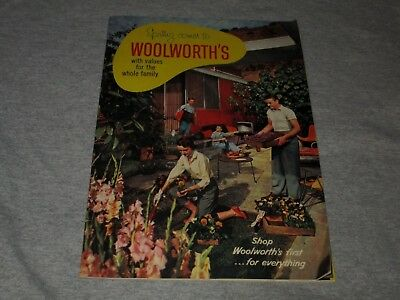Woolworth's-1956 Spring Catalog-Easter-Fashion-Toys & More