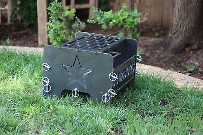 """Circle J Fab 30/"""" Outdoor Fire Pit Grill Top Pan Made In Texas BBQ GP30"""