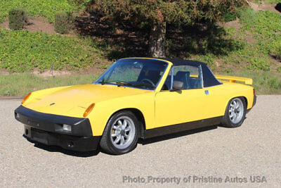 1975 Porsche 914 Buick V6 grand national motor Porsche 914 with V6 Buick motor. Professional conversion with no expense spared