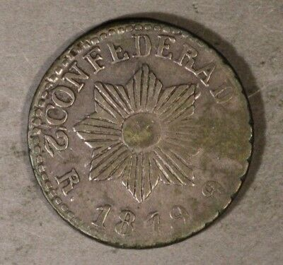 1849 Argentina Cordoba (2 Reales) Nicer Grade Uneven ** FREE U.S. SHIPPING **