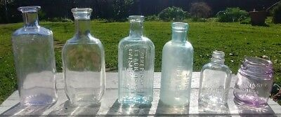 *Antique Bottles* - Mixed Lot of 6