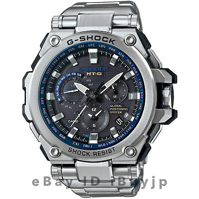Casio G-Shock MTG-G1000D-1A2JF MT-G GPS Hybrid Solar Atomic Mens Watch