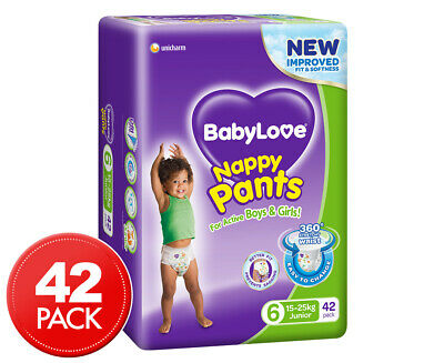 BabyLove Junior Jumbo Nappy Pants 15-25kg 42pk