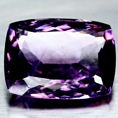 18.03 Ct Natural Purple Clr Change To Pink Brazil Amethyst Cushion