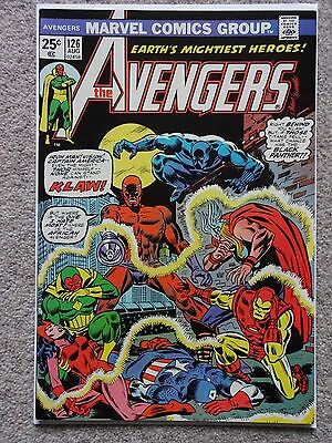 THE AVENGERS Vol.1 No. 126 August 1974