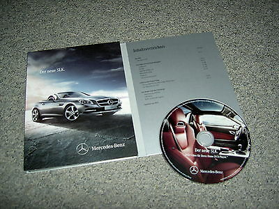 "Mercedes Benz Dvd-Video ""slk"" !!!"