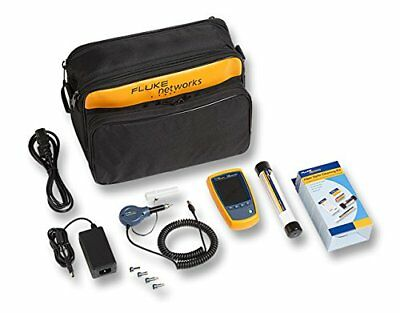 Fluke Networks FI-525 Fiber Optic Inspection Camera Perp With Cleaning Supplies
