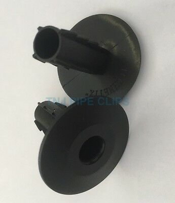 20x BLACK COAXIAL CABLE HOLE GROMMETS TV, PHONE, SKY BUSHES / SHOTGUN CABLE WIRE