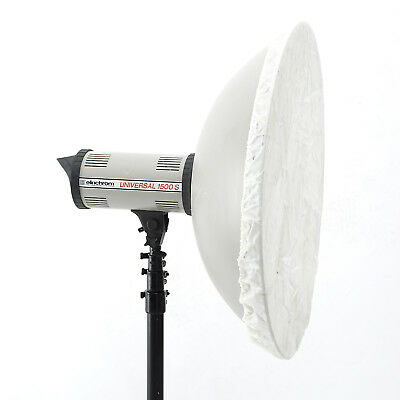 Elinchrom Softlite Silver Reflector 70Cm 64* Beauty Dish And 2 Diffuser Covers