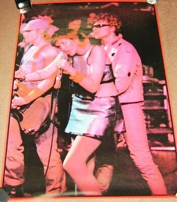 The Rezillos Punk Superb Rare U.k. Live On Stage 'Big O' Personality Poster 1978
