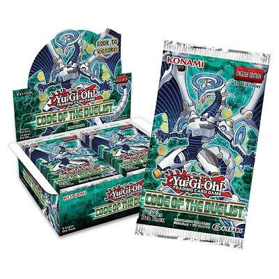 Yu-Gi-Oh! Code of the Duelist Booster Display Box Trading Card Game Konami CHOP