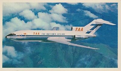 TAA Collector's Card - Boeing 727 - Whispering T-Jet - Trans Australia Airlines