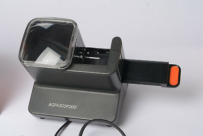 Agfascope 200 Slide Viewer - Mains Operated in Original Box - All Working