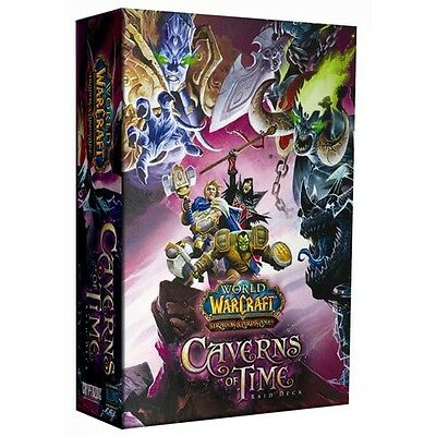 World of Warcraft TCG - Caverns of Time Raid Deck - Box - Display - WoW