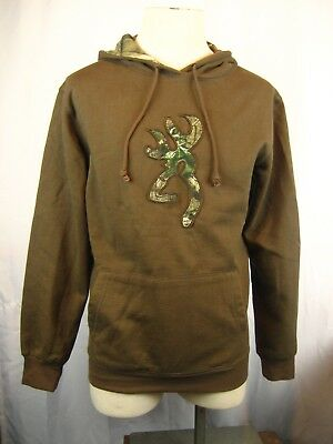 New Browning Men/'s Buckmark Realtree Xtra Camo Lined Hoodie Black BRS010021
