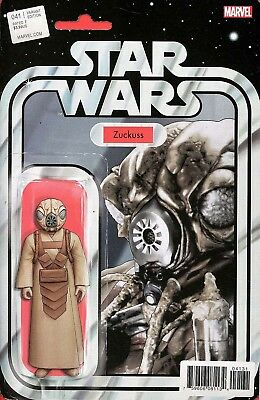 Star Wars (2015-) #41 Zuckuss Action Figure Variant Cover NM Marvel