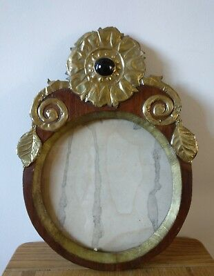 Antique arts and crafts movement  photo frame
