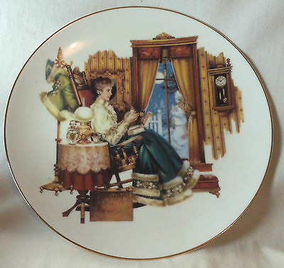 """Avon President's Club Award """"Tradition"""" Collectors Plate 2003-2004"""