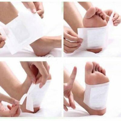 10Pairs Feet Sticks Tags Paster Affixed Detoxification Cleansing Toot Care