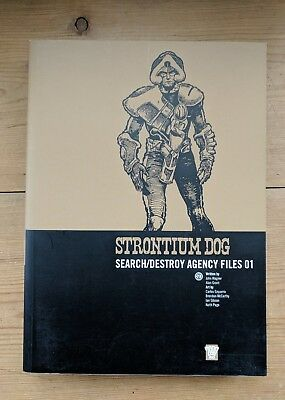 2000 AD Strontium Dog Search/Destroy Agency Files 01 Wagner Grant Ezquerra