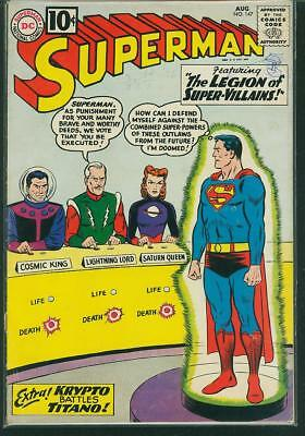 Superman #147 G/VG (Qualified)