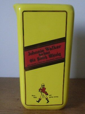 Pub Jug Advertising Johnnie Walker Red Label Old Scotch Whisky/whiskey