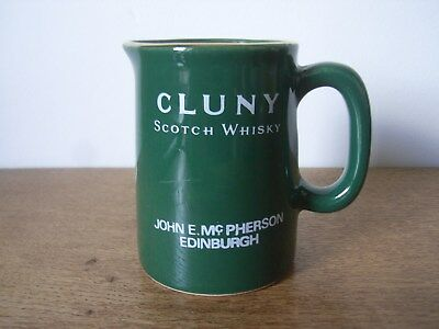 Miniature Pub Jug Advertising Cluny Scotch Whisky/whiskey