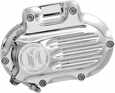 PM Chrome Fluted Hydraulic Clutch Cover 2007-18 Harley