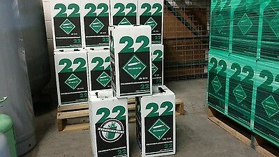 R22 refrigerant 15 lbs. new factory sealed Virgin made in USA SAME DAY SHIPPING!