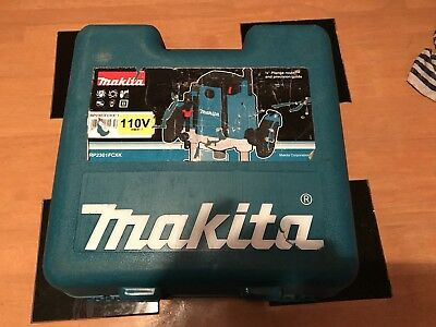 """Makita RP2301FCXK 110v 1/2"""" Plunge Router Variable Speed - Precision Guide +Case"""