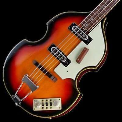 Univox by Unicord Made in Japan VB Style 60's SB Vintage violin bass from Japan
