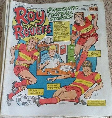 Roy of the Rovers 18th January 1986 Combined Postage Offered For Multiple Buys
