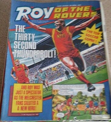 Roy of the Rovers 04th April 1987