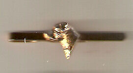 Border Terrier Gold Plated Tie Bar Slide Jewelry  LAST ONE!