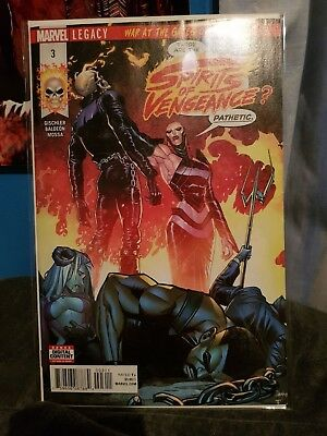 Marvel Comic Spirits of Vengeance 3 First Print Brand New! Mint Condition!