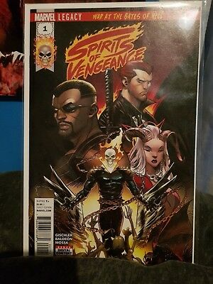 Marvel Comic Spirits of Vengeance 1 First Print Brand New! Mint Condition!