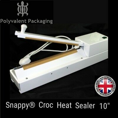 """Snappy® Croc Heat Sealer 10"""" for use with  Snappy Heat Seal Bags impulse sealer"""