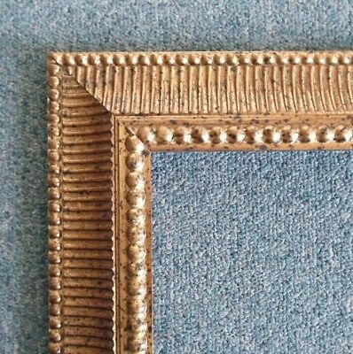 Picture Frame-  18x24 - Classic Old Gold Bronze w/ Black Highlights- #801