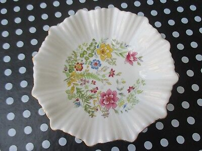 Hammersley Decorated Florial Pin Dish Pattern - 13cm Diameter - Mint Condition