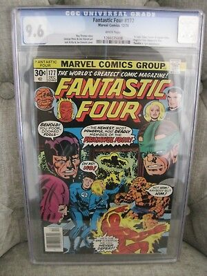Fantastic Four # 177 v.1 CGC 9.6 WHITE pgs Jack Kirby cover